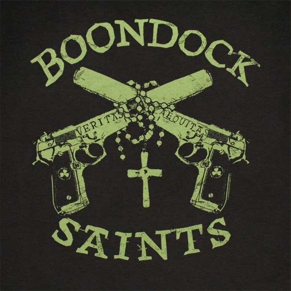 Boondock saints clipart banner library library BOONDOCK SAINTS Green Guns Tee Shirt banner library library