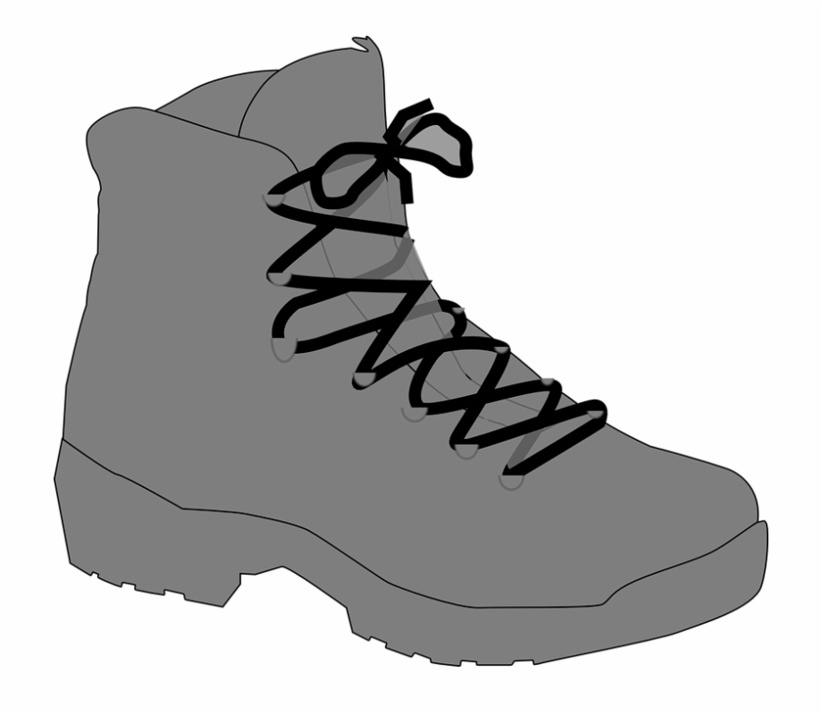 Boot laces clipart freeuse stock Boot Lace Fastened Tied Footwear Shoe Fashion - Clip Art Hiking ... freeuse stock