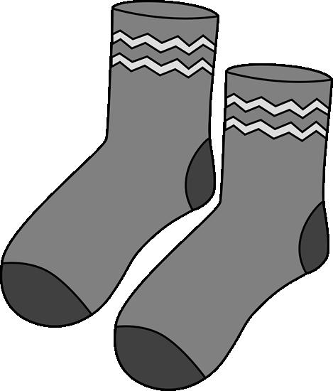 Boot socks clipart png free Gray Pair of Socks | Printable Magnets or Scrap Book Journals | Sock ... png free