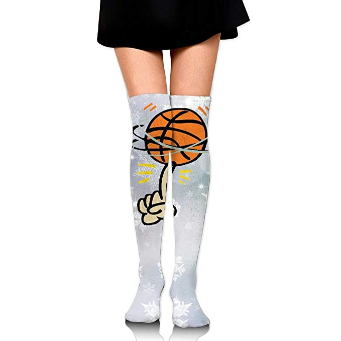 Boot socks clipart clip royalty free stock Amazon.com: Fashion Clipart Basketball Women\'s Thigh High Stockings ... clip royalty free stock