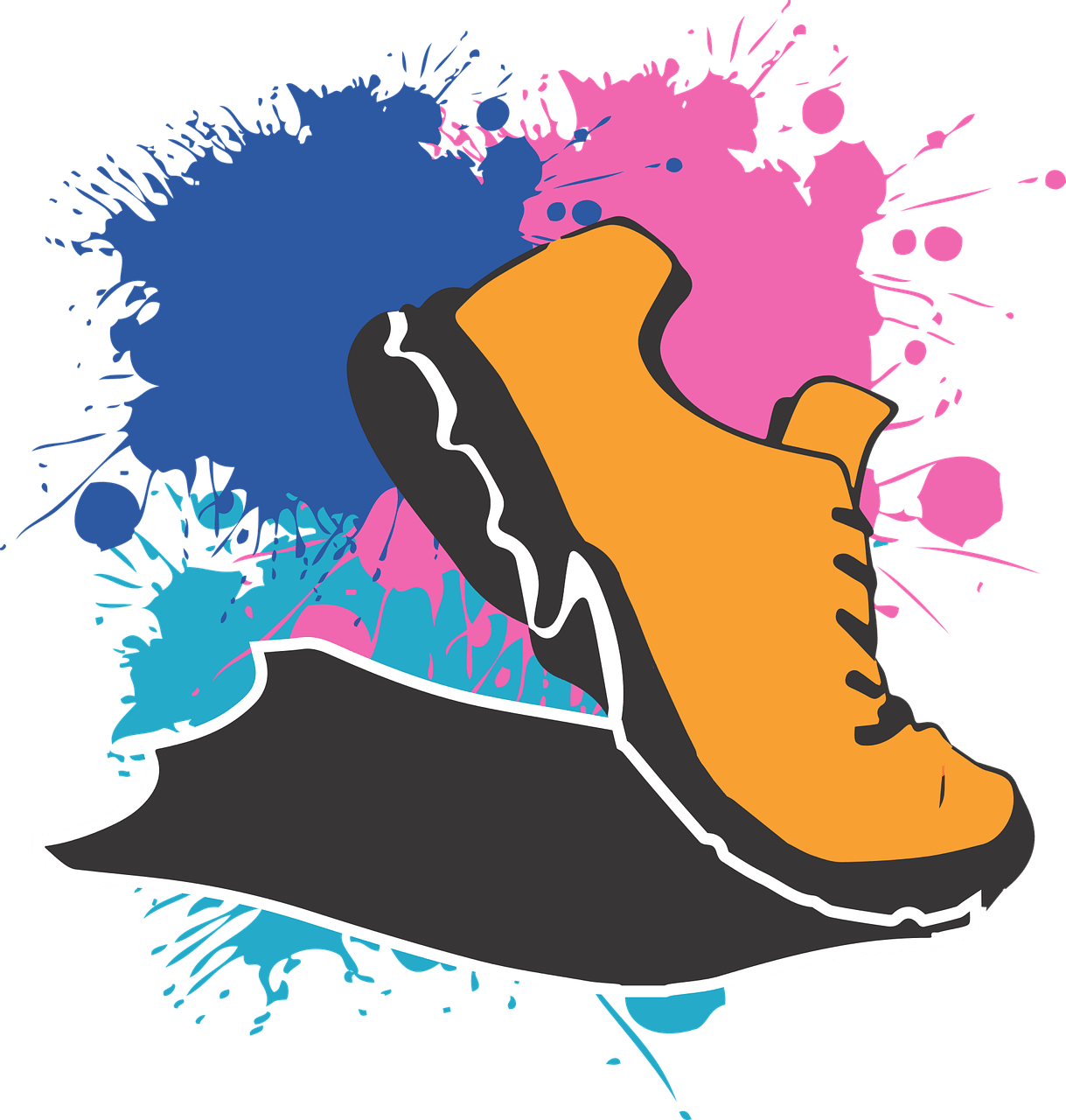 Boot stomping clipart jpg black and white It is time for the 39th Annual Potato Mantua Stomp | The Weekly Villager jpg black and white