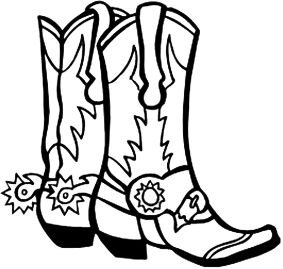 Boot with cell phone on it clipart black and white download Cowboy boot clip art | Coloring Fun | Western clip art, Cowboy boots ... black and white download