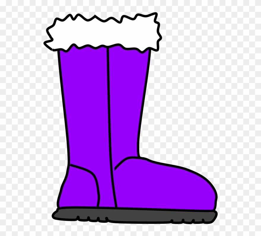 Boot with cell phone on it clipart clip black and white library Boots, Fur, Snow, Rain, Purple, Png - Snow Boot Clipart (#3491273 ... clip black and white library