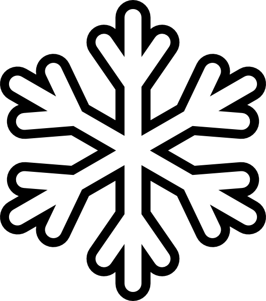 Solid snowflake clipart vector royalty free download Snow Clipart | Clipart Panda - Free Clipart Images vector royalty free download