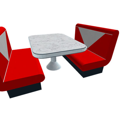 Booth seating clipart free stock Restaurant Booth - Roblox free stock