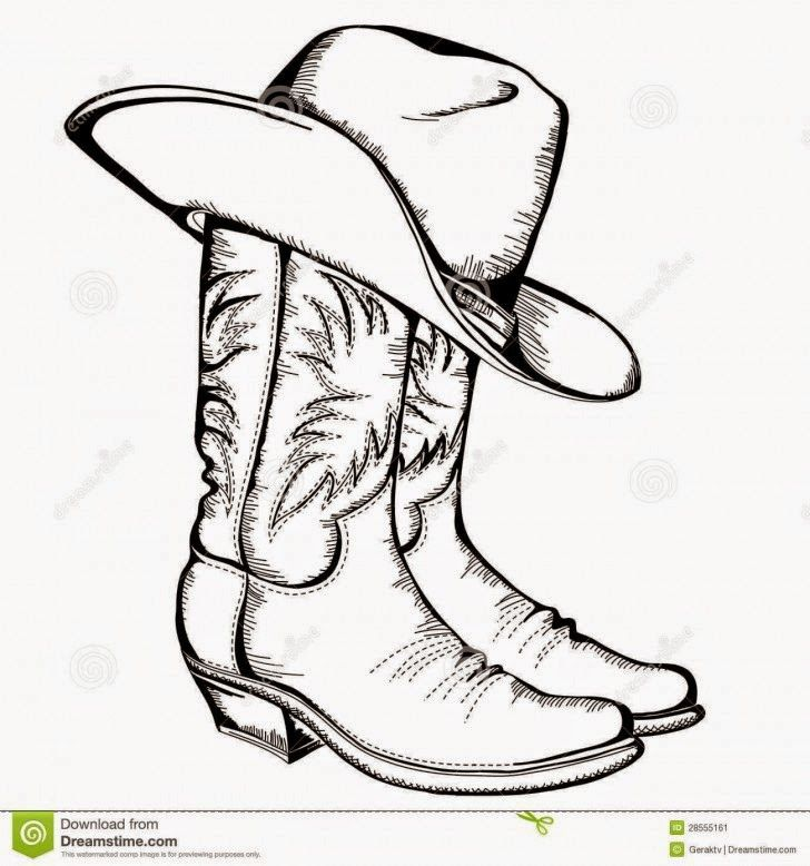 Cowboy boots and hat clipart banner freeuse download Cowboy Boots And Cowboy Hat Drawing Hd Shoe Clip Art | Homemade ... banner freeuse download