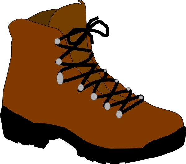 Boots clipart free banner royalty free Hiking Boot clip art Free vector in Open office drawing svg ( .svg ... banner royalty free