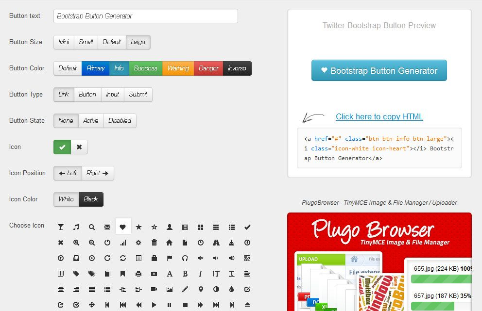 Bootstrap button with clipart. Clipartfest twitter