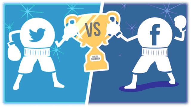 Bootstrap facebook clipart svg freeuse download Bootstrap Business: Facebook vs Twitter Social Media Marketing ... svg freeuse download