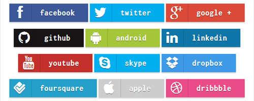 Bootstrap facebook clipart.  attractive css html