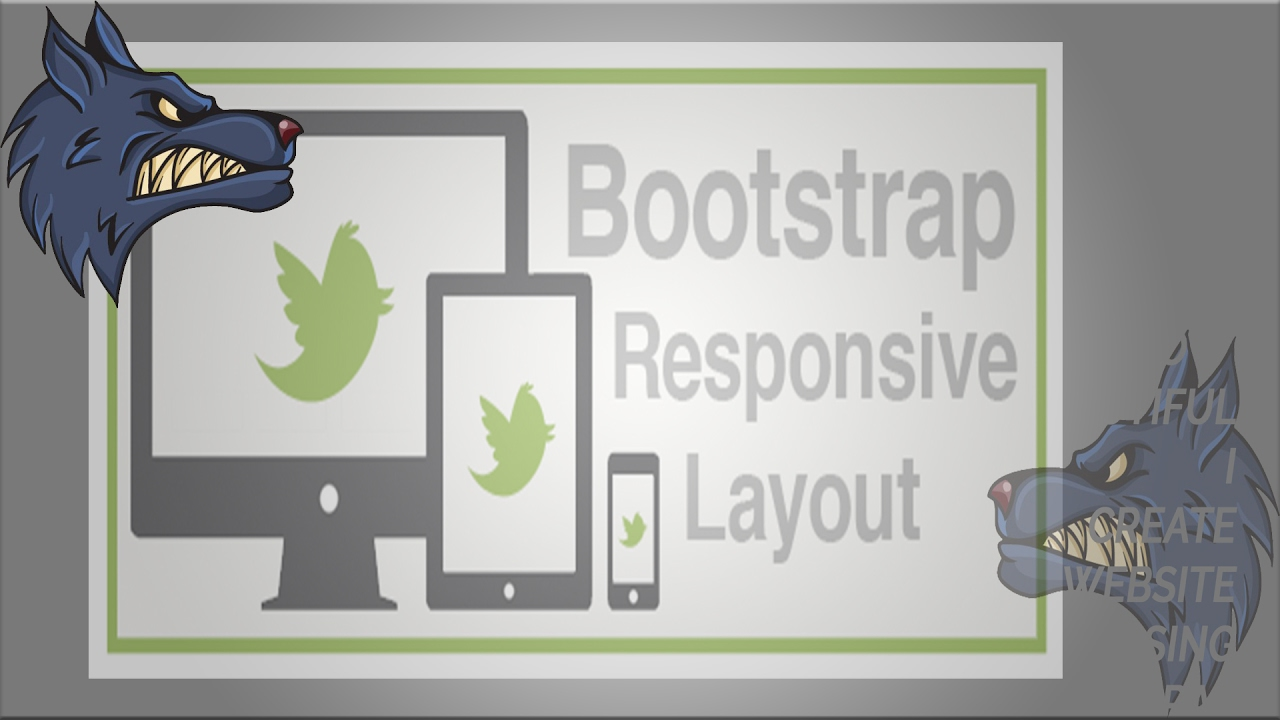 Bootstrap responsive clipart image black and white download Responsive Website Design With Bootstrap - YouTube image black and white download