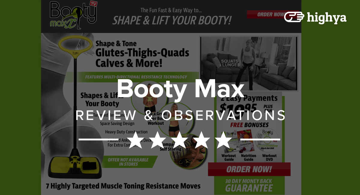 Booty max graphic transparent download Booty Max Reviews - Is it a Scam or Legit? graphic transparent download