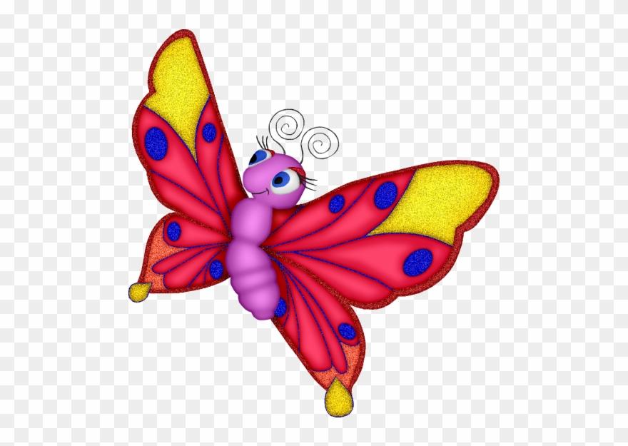 Borboleta clipart image library stock Borboletas & Joaninhas E - Clipart Images Of Butterflies - Png ... image library stock
