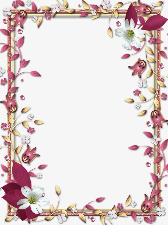 Borde de flores clipart banner transparent Borde del marco,El sombreado de las fronteras,Flores,Frame | Bordes ... banner transparent