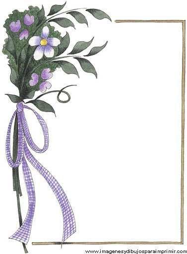 Borde de flores clipart clipart transparent download Borde con ramo de flores | Inspiration | Borders for paper, Borders ... clipart transparent download