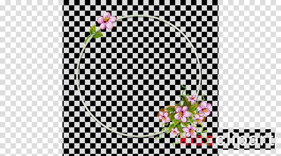Borde de flores clipart svg freeuse download Flower Wreath clipart - Flower, Wreath, transparent clip art svg freeuse download