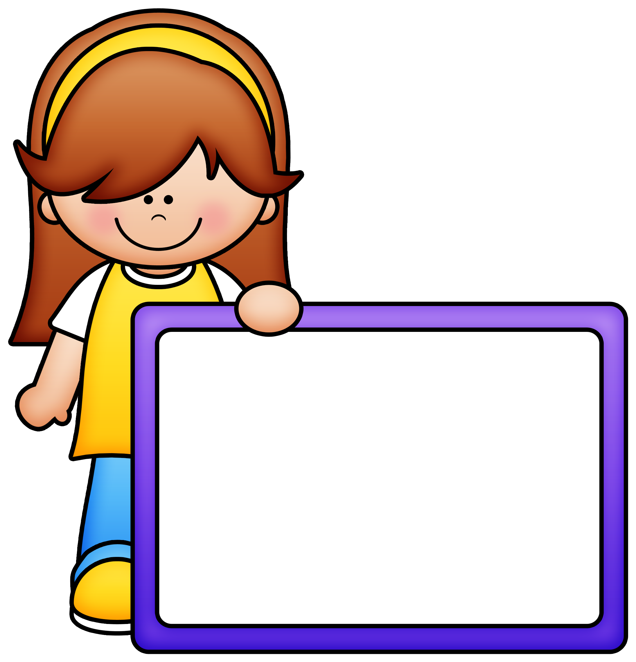 Border clipart for school picture royalty free download ✿**✿*PANCARTA*✿**✿* | niños | Pinterest | Clip art, Clipart ... picture royalty free download