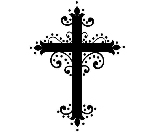 Simple cross clipart picture black and white stock Communion Borders Clipart. Communion Borders Clipart With Communion ... picture black and white stock