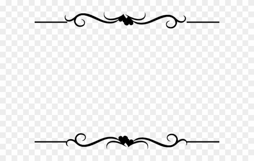 Border designs clipart jpg library download White Dove Clipart Wedding Heart Design - Name Border Design Png ... jpg library download