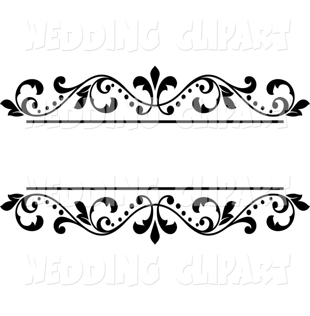 Border designs clipart graphic freeuse stock Wedding Designs Clipart Borders - Clipart1001 - Free Cliparts graphic freeuse stock