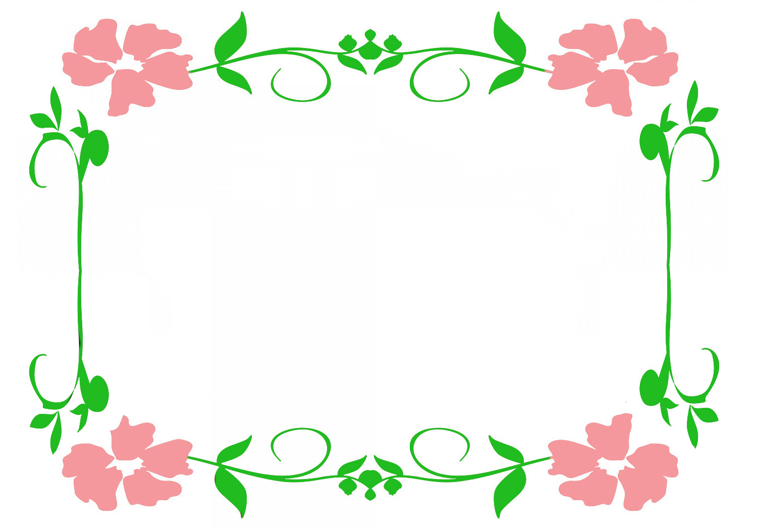 Flowers frame clipart image freeuse library Flower borders and frames image freeuse library