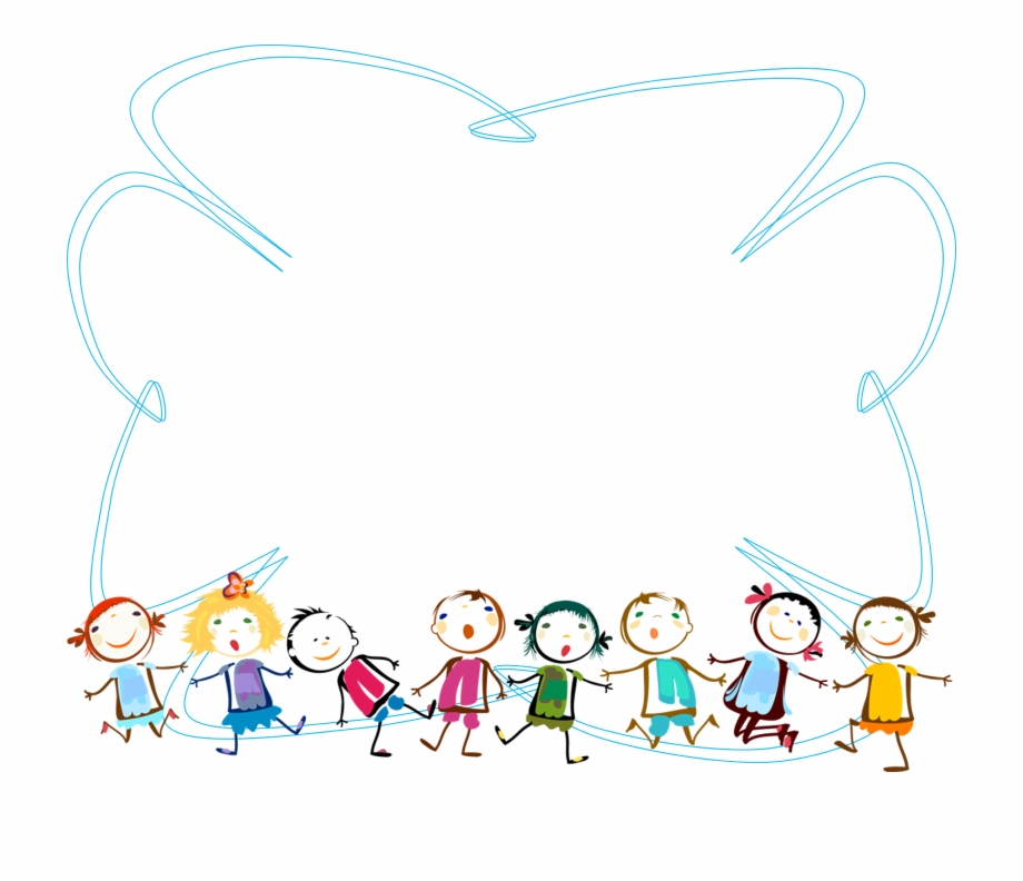 Border kids clipart clipart freeuse library Children Border Clipart - Children Border Free PNG Images & Clipart ... clipart freeuse library