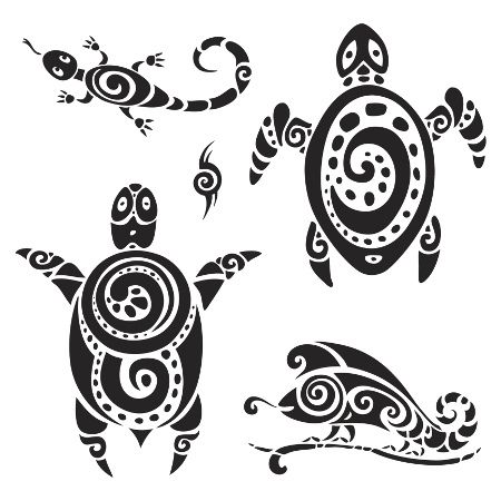 Border tattoo polynesian clipart image black and white library Polynesian Tattoo Designs and Meanings | tattoo love | Tribal ... image black and white library