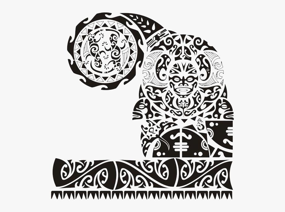 Border tattoo polynesian clipart vector royalty free Chest Tattoo Clipart - Maori Tattoo Transparent #1640270 - Free ... vector royalty free