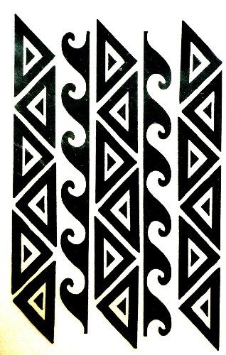 Border tattoo polynesian clipart clip art royalty free download Polynesian Clipart Group with 86+ items clip art royalty free download