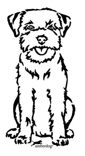 Border terrier christmas clipart image black and white library Border Terrier   Border Terriers   Border terrier, Animal drawings ... image black and white library