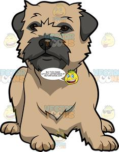 Border terrier christmas clipart graphic transparent stock A Cute Border Terrier Dog graphic transparent stock
