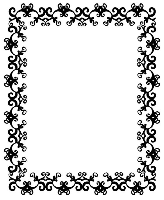 Borders and patterns clip art svg freeuse free clipart boarders | 40 Stunning Free Clip Art Borders | Alice ... svg freeuse