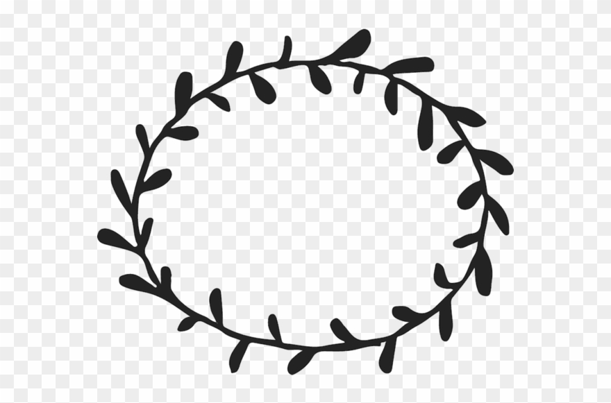 Circle designs clipart image transparent download Leaf Branch Clip Art - Simple Border Designs Circle - Png Download ... image transparent download