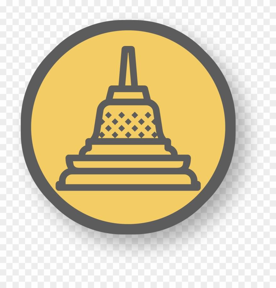 Borobudur clipart freeuse stock Qualité Monastère - Candi Borobudur Icon Png Clipart (#1645356 ... freeuse stock