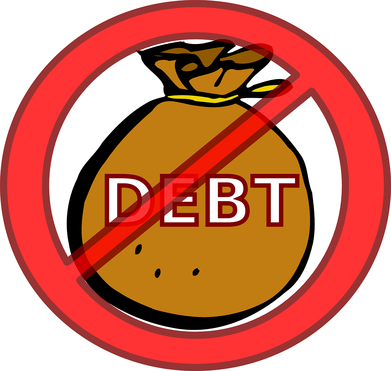 Borrowing money clipart png black and white Can I get a personal loan if I have a bad credit history?   Cashkumar png black and white