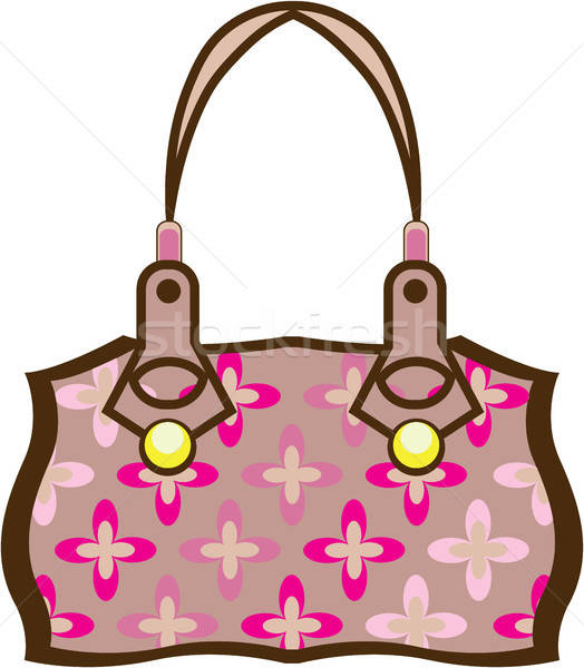 Borsa clipart graphic freeuse library Fiore · borsa · illustrazione · clipart · immagine · vettore ... graphic freeuse library