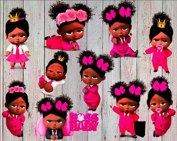 Boss baby black girl clipart clipart library stock African American Girl Boss Baby Clipart Boss Baby Girl | Etsy | Ivy ... clipart library stock