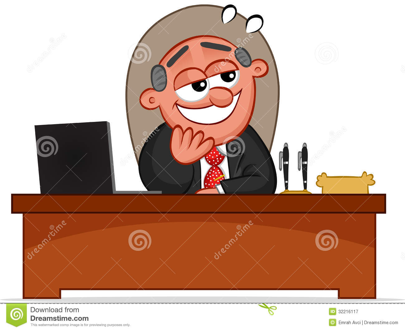 Boss man clipart clipart freeuse Happy Boss Man Looking Royalty Free Stock Photography - Free Clipart clipart freeuse