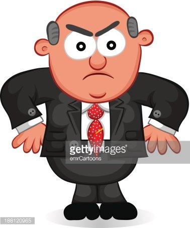 Boss man clipart jpg royalty free download Boss Man Angry stock vectors - Clipart.me jpg royalty free download