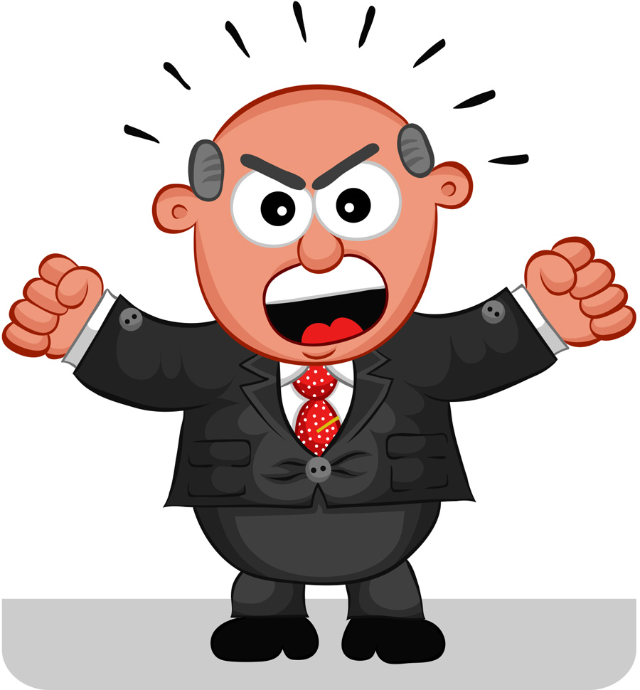 Person screaming clipart clip art library stock Free Funny Boss Cliparts, Download Free Clip Art, Free Clip Art on ... clip art library stock