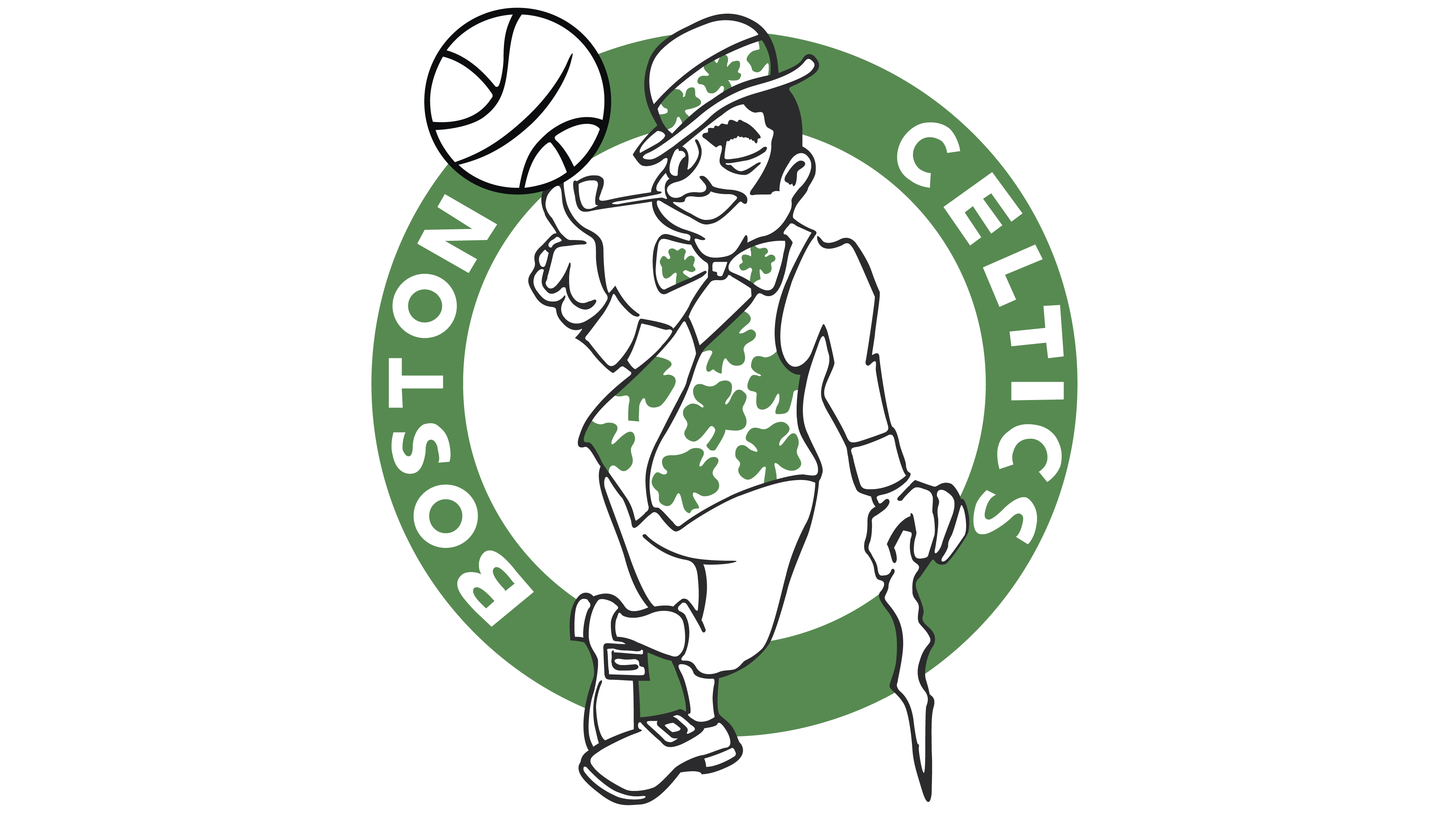Boston celtics basketball clipart clip art royalty free stock Boston Celtics Logo - Interesting History of the Team Name and emblem clip art royalty free stock