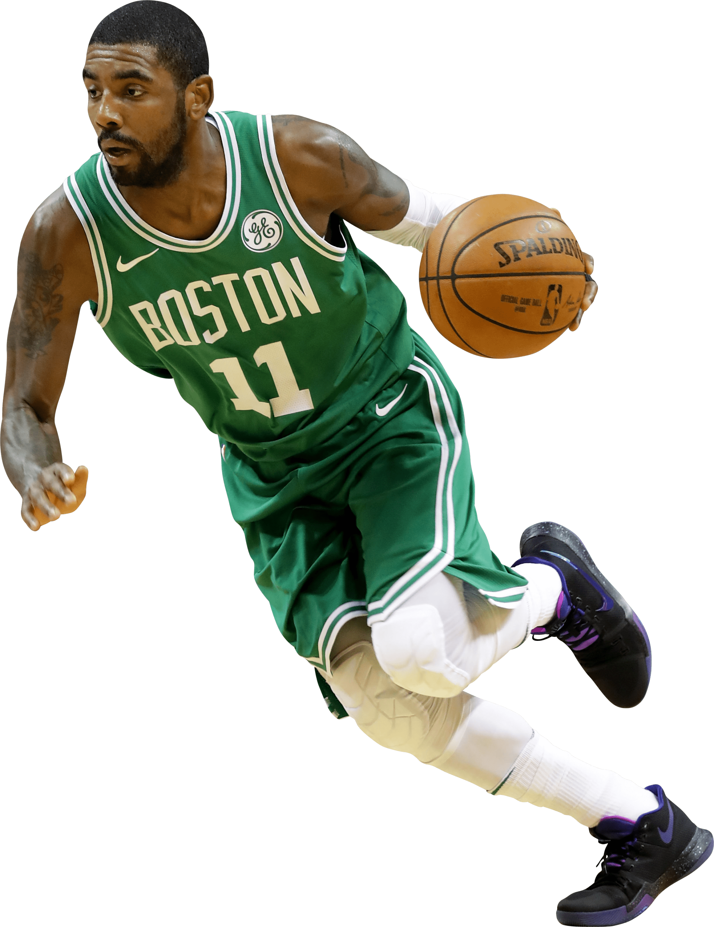 Boston celtics basketball clipart svg freeuse stock Kyrie Irving Boston Celtics Running transparent PNG - StickPNG svg freeuse stock