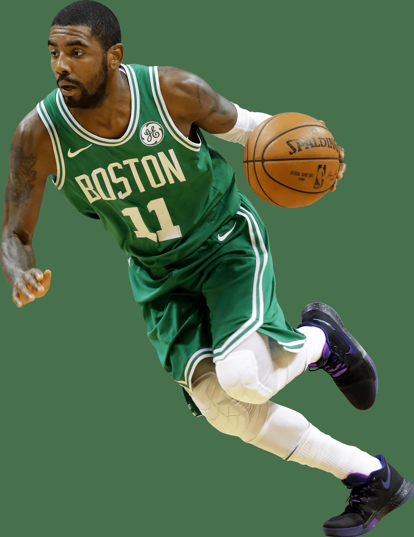 Boston celtics basketball clipart svg freeuse stock Kyrie Irving Boston Celtics Running transparent PNG - StickPNG svg freeuse stock