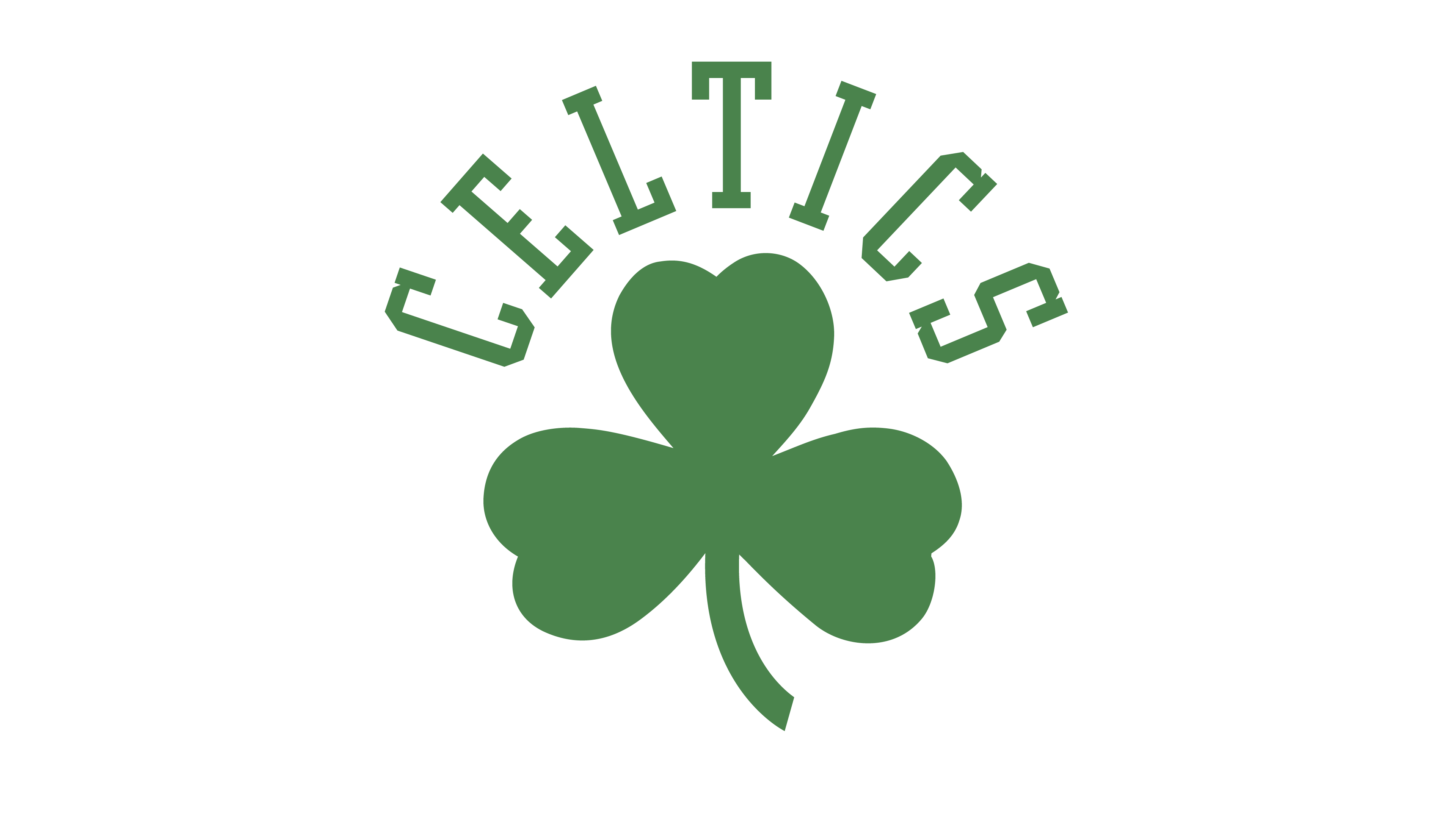 Boston celtics basketball clipart free Boston Celtics Logo - Interesting History of the Team Name and emblem free