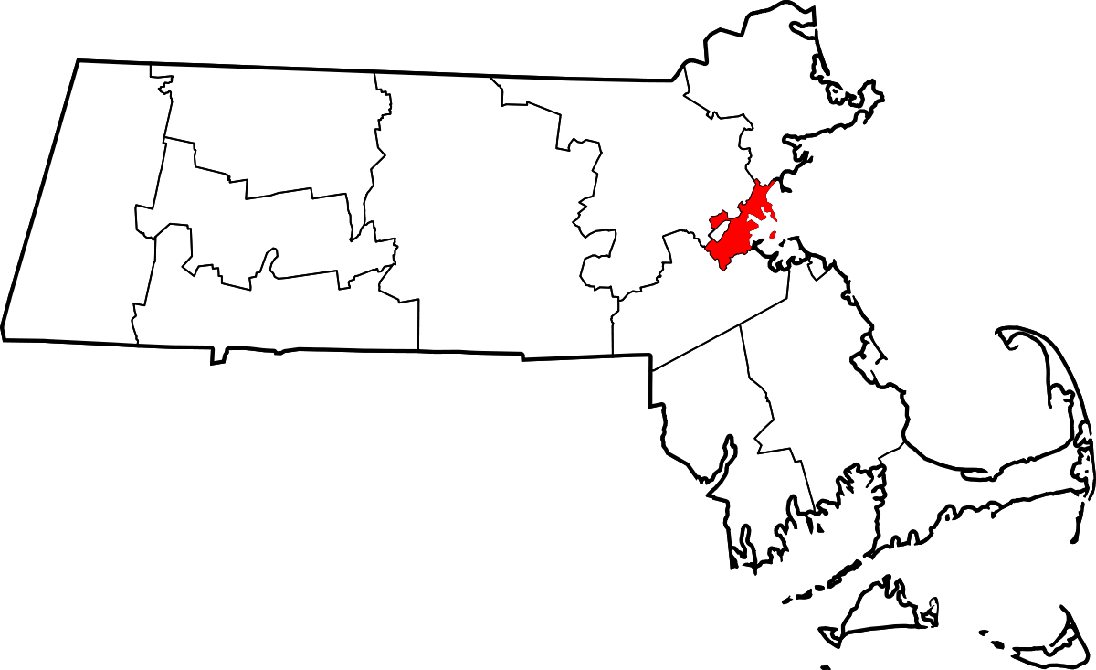 Boston map clipart vector library download National Register of Historic Places listings in Suffolk County ... vector library download