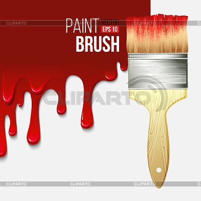 Bote y brocha vector clipart jpg black and white Brocha | Fotos Stock y Clipart vectorial EPS | CLIPARTO jpg black and white