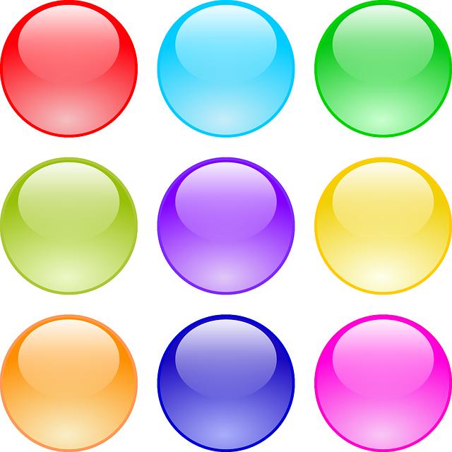 Botones web clipart gratis