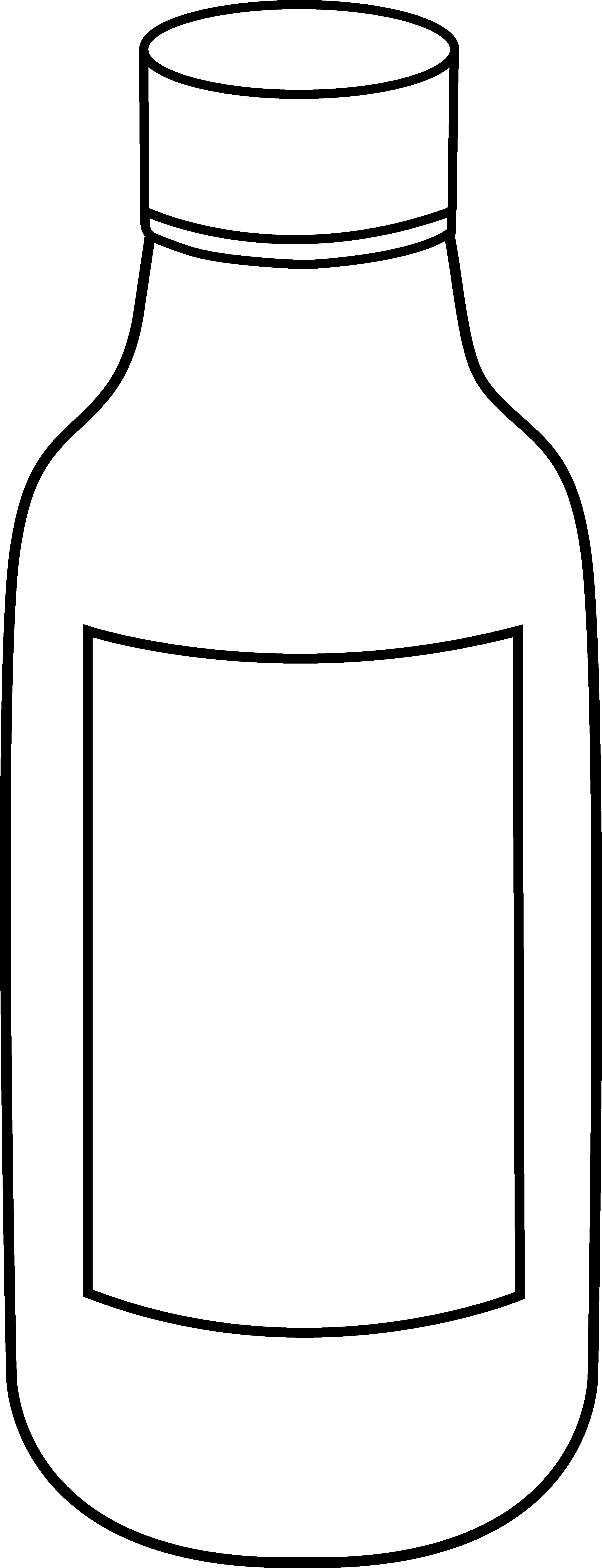 Bottle clipart black and white picture freeuse stock Free Bottle Cliparts, Download Free Clip Art, Free Clip Art on ... picture freeuse stock