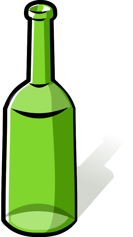 Bottle images free clipart svg royalty free download Free Clipart: Green bottle | rg1024 svg royalty free download