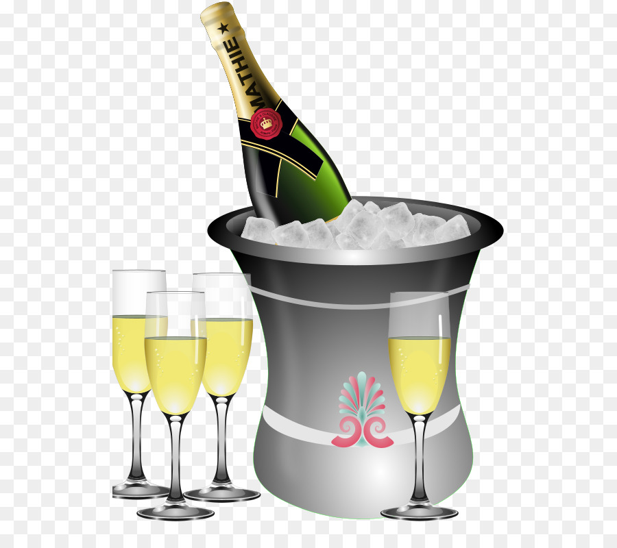Bottle of champagne glass clipart free download New Year Champagne png download - 572*800 - Free Transparent ... free download